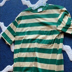 Other - Men's Surfer Stripped Shirt VINTAGE 60's